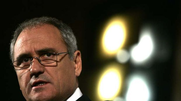 He's recently retired as Treasury secretary Ken Henry and will soon be special adviser to the Prime Minister.