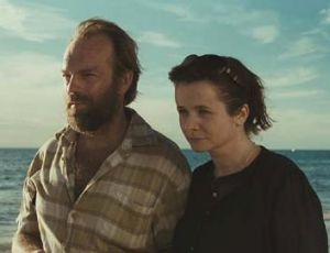 Search for identity ... orphan Jack (Hugo Weaving) and social worker Margaret Humphreys (Emily Watson).