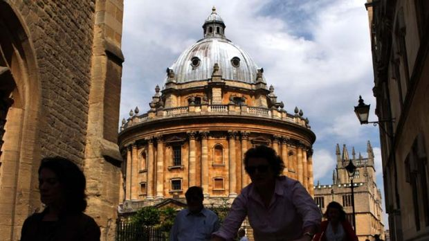 Oxford's Bodleian Library ... admission requires recitation of a pledge.