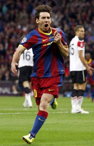 Lionel Messi... you never know exactly what he's going to do.