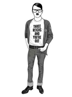 Hipster Hitler clothing line no joke for some Jewish groups, who say Hitler was a monster, not a cartoon character.