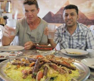 Munir al-Sahlany and Captain Peter Howden are two of the few who have remained friends in Australia.
