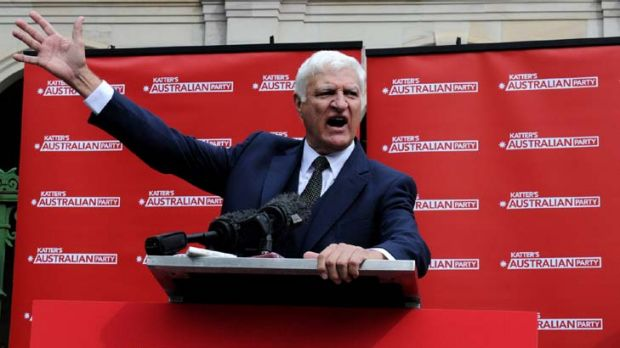 Independent MP Bob Katter launched his new political party yesterday with a membership of one so far, prompting  ...