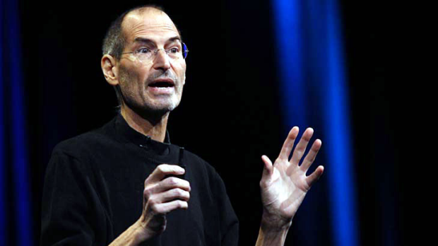 Jobs headlined the event despite being off on sick leave.