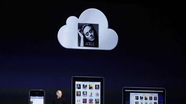 Apple's iCloud lets users store their files in the online cloud and access them from any device.