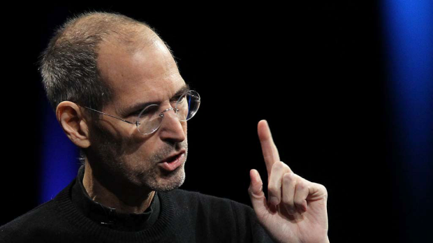 Apple CEO Steve Jobs delivers the keynote address at the 2011 Apple World Wide Developers Conference.