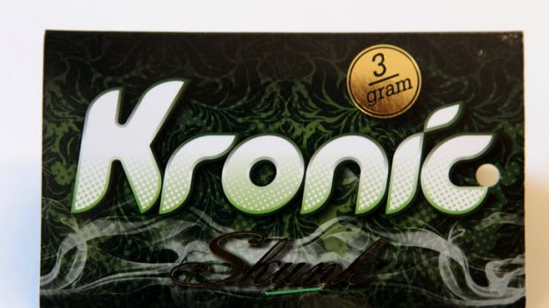 Kronic, a synthetic form of cannabis, was outlawed last year.