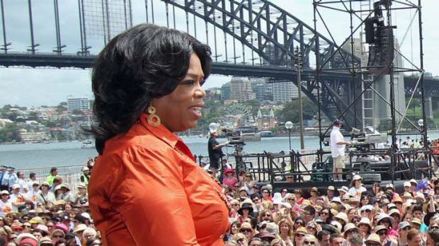 Putting NSW on the map ... Oprah.