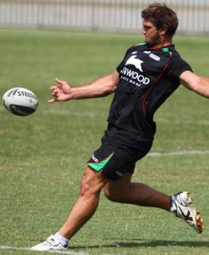 'Coal train' ... Dave Taylor, above, is a prop of infinite potential says, Darren Lockyer.