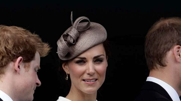 'Queen of fashion'  ... Duchess of Cambridge Kate Middleton.