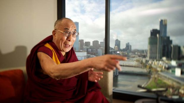 ''Beyond control of individual nations'' ... the Dalai Lama in Melbourne yesterday as part of an Australian visit.