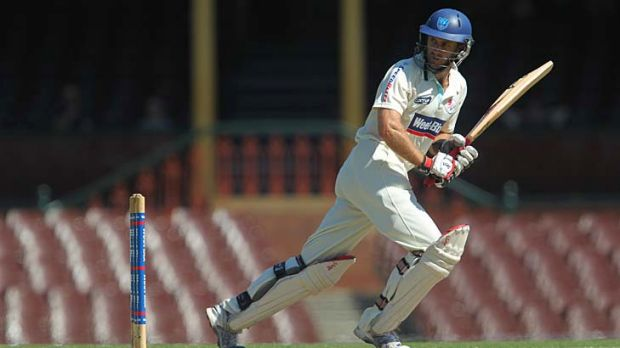 Simon Katich in action.