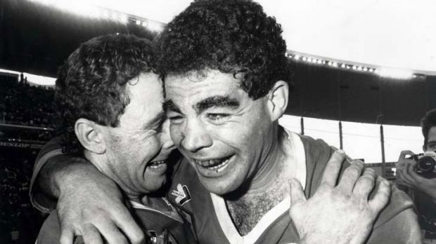 Bonded by success ... not even being opposing Origin coaches can break the friendship that Ricky Stuart and Mal Meninga ...
