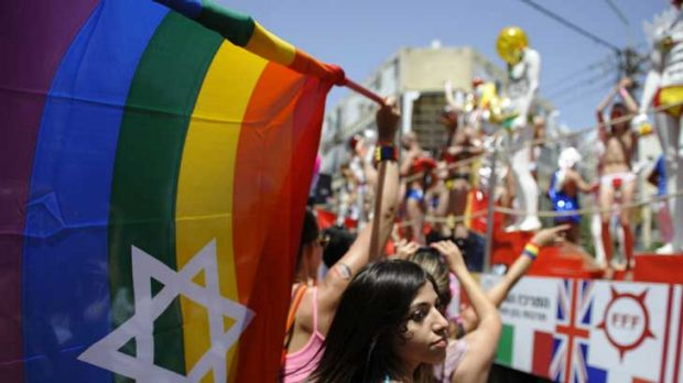 Out and proud: Thousands take part in Tel Aviv's annual parade for gays and lesbians. The hedonistic and secular Israeli ...