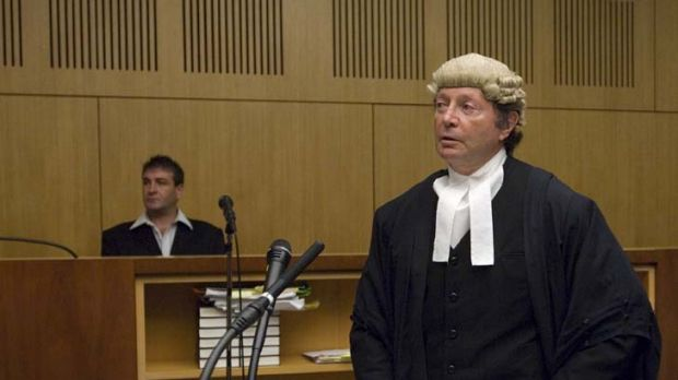Detector test ... Jason Courtney and his barrister, Peter Lavac, in On Trial. A jury couldn't agree on two charges; at a ...