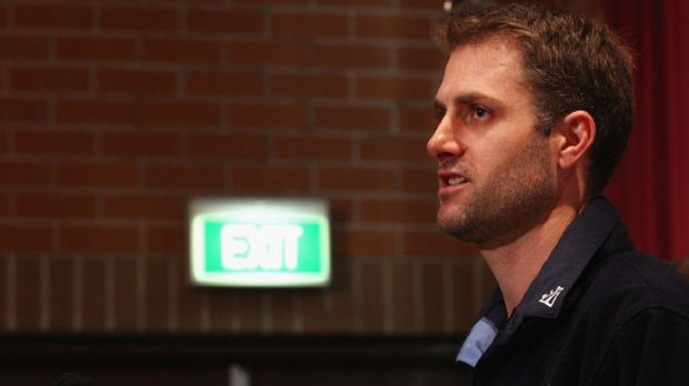 Speaking out ... Simon Katich addresses a media conference at the SCG on Friday after Cricket Australia dumped him.