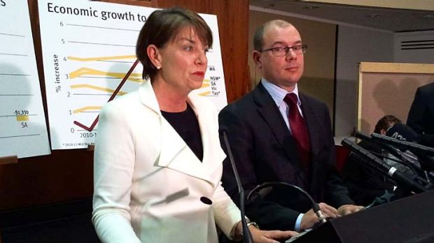 Premier Anna Bligh and Treasurer Andrew Fraser take questions from the media on the 2011 State Budget.