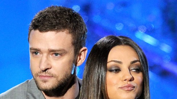 Friend with benefits? ... Justin Timberlake does little to dissipate rumours of a romance with Mila Kunis.