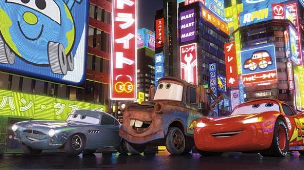 A film too far: There's too little life from the automotive cast in Pixar's tired sequel Cars 2.