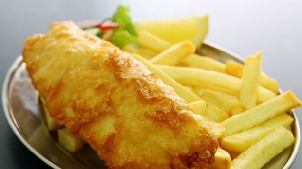 Fish and chips ... do greasy treats change the way your brain handles your weight?