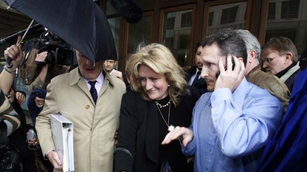 Charges dropped ... US-based Scientologist Janice Meyer after an earlier court date.