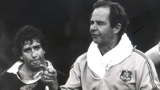 Dave Brockhoff both played for and coached the Wallabies.