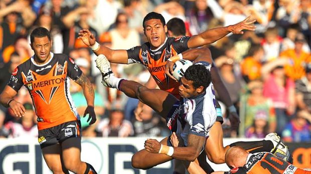 Only one way to go for Sisa Waqa of the Storm.