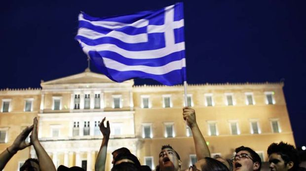 Reasons to cheer ... A messy Greek default is now less likely.