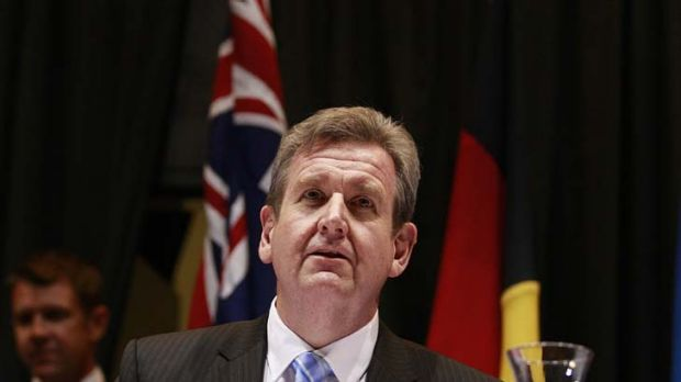 Appealing ... NSW Premier Barry O'Farrell claimed many first time Liberal voters.