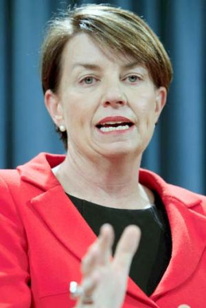 Queensland Premier Anna Bligh: Championing gay marriage rights.