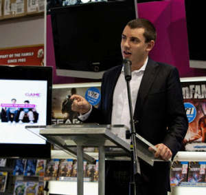 Managing Director of Game Australia, Paul Yardley.