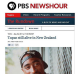 Tupac alive? No. Hackers managed to break into the PBS site and post this story.
