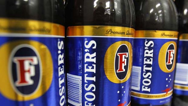 Fosters is an Australian icon, albeit an emotive one.
