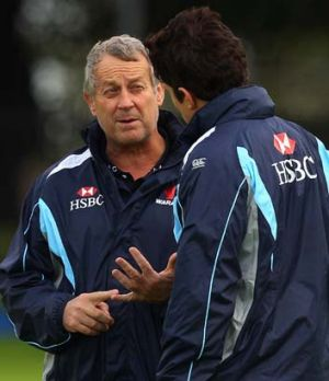 """""""How you manage players at the back end of the competition becomes really important"""" ... Waratahs coach Chris Hickey."""