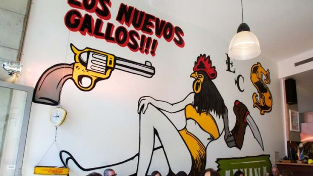 Live out your Latino gangster dream at El Capo restaurant in Surry Hills.