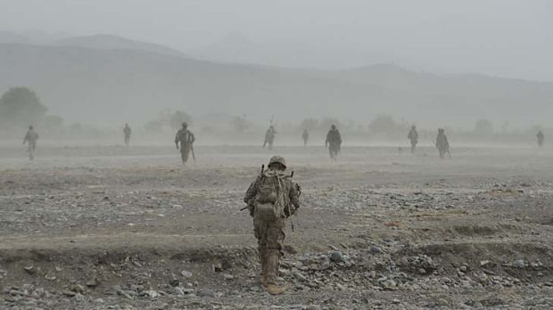 ADF commandoes are scheduled to stay in Afghanistan until the end of 2014.