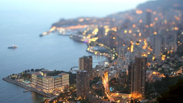 The jet-setter's playground ... Monaco hopes to attract up to 200,000 tourists for the royal wedding.