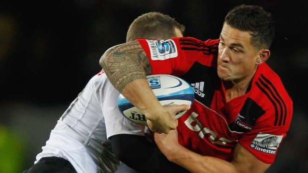 Solid ... Sonny Bill Williams.