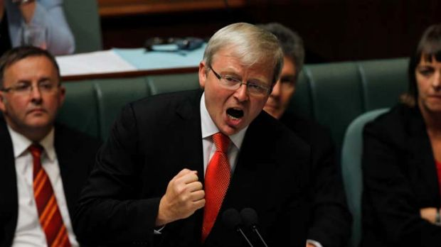 People's choice ... Kevin Rudd.