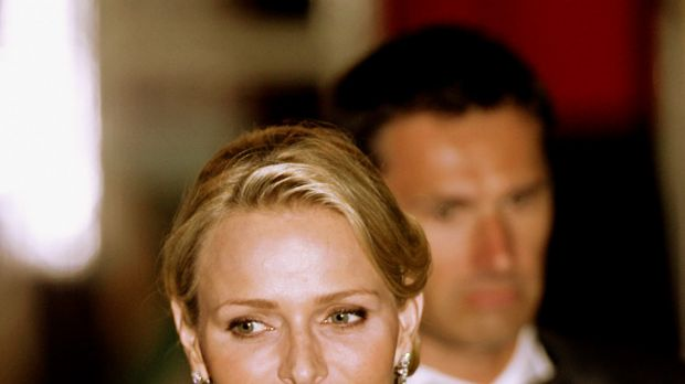 In the spotlight ... the next Princess of Monaco Charlene Wittstock.