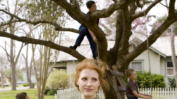 Memories ... Jessica Chastain plays a mother of three in the quasi-autobiography.
