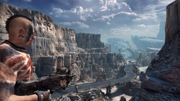 Rage will combine first-person shooting and high-speed racing in a huge post-apocalyptic world.