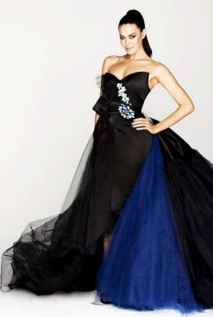 Megan Gale ... set to star as the host of Project Runway Australia.