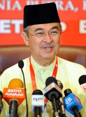 Former Malaysian Prime Minister and highly influential political figure, Abdullah Badawi.