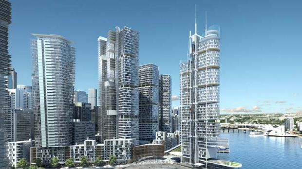 A permanent helicopter base should be included as part of the Barangaroo redevelopment.