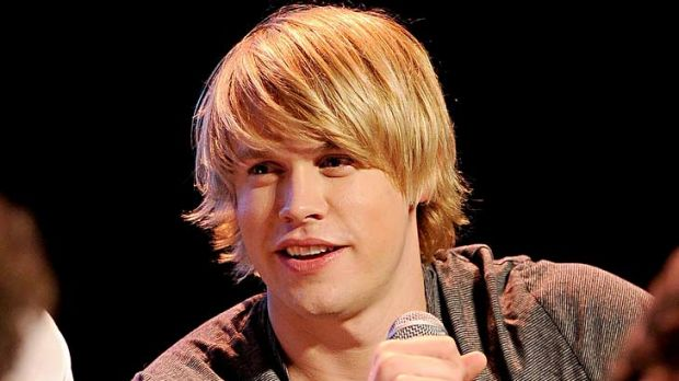Chord Overstreet plays Sam 'Trouty Mouth' Evans