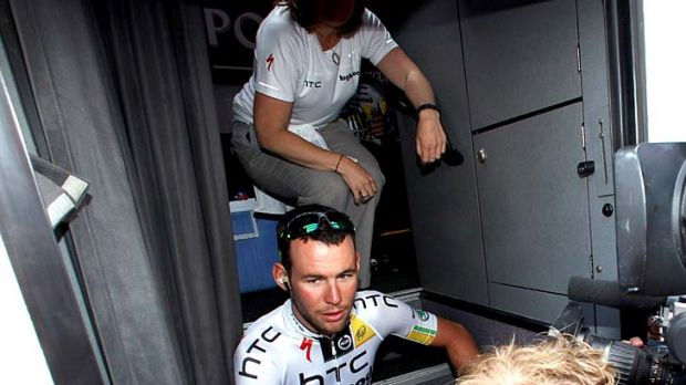 Mark Cavendish's press conferences are a must for travelling media.