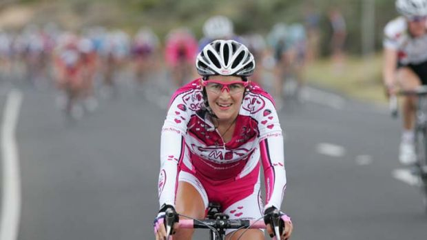 Cycling her passion ... Carly Hibberd was killed in a collision in Italy.