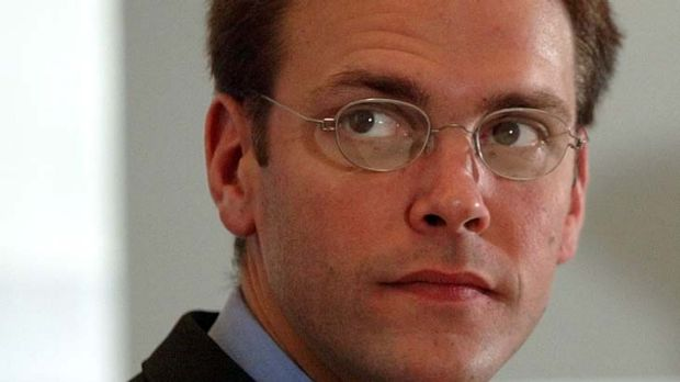 Under fire ... News International chairman James Murdoch.