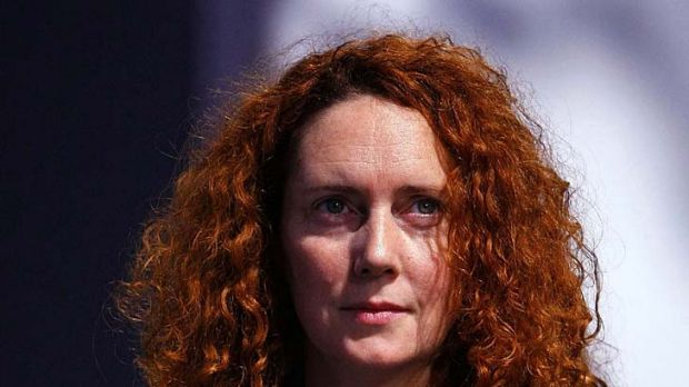 Rebekah Brooks ... James Murdoch is standing by her.